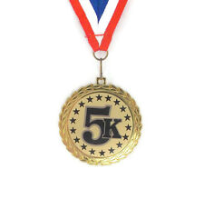 5K Medal- Race- Participant- Winner- Free Neck Ribbon