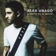 Siempre en Mi Mente by Alex Ubago (CD, Oct-2007, WEA Latina)