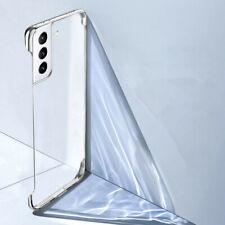 Ultra-thin fr Samsung Galaxy S21 Ultra S20 Frameless Plating Transparent PC Case