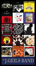 "J. GEILS BAND album discography magnet (4.5"" x 3.5"")"