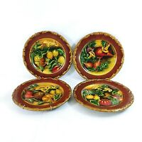 Toyo by Raymond Waites Decorative Wall Plates Embossed Ready To Hang Set of 4