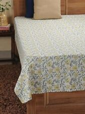 Beautiful Multi Color Jaal Hand Block Printed fabric 100% Cotton Bed Cover