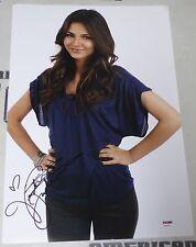Victoria Justice Signed 12x18 Photo PSA/DNA COA Picture Autograph Victorious 1