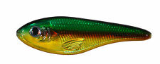 BOMBER     HERKY JERKY         HOLO SCALE GREEN /YELLOW/ BROWN STRIPE