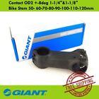 "GIANT Contact OD2 -8deg 1-1/4"" 1-1/8"" Bike Stem 50- 60-70-80-90-100-110-120mm"