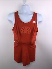 New - Adidas Red Techfit Compression Padded Tank Top Men's Xl. A151