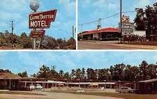 Longview Texas Globtrotter Motor Hotel Multiview Vintage Postcard K35792