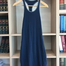 Metalicus Essential Racer Back Dress in Ink Blue - NWT