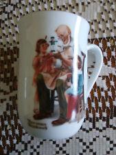Norman Rockwell Museum The Toymaker Porcelain Mug - 1982 #