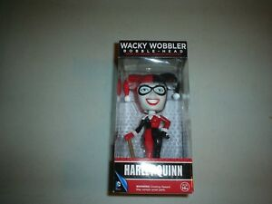 Harley Quinn Action Figure Wacky Wobbler Funko DC Comics NIB New In Box