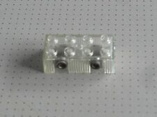 Lego Electric - 4.5v Light Brick and Bulb - Clear - 2 x 4 Studs (code:x456)