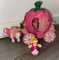 WOW Toys Pippa's Princess Carriage Pink Horse And Little Figure Cute Play Set