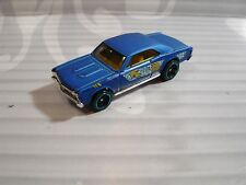 2018 HOT WHEELS  loose = `67 CHEVY CHEVELLE SS  = BLUE    , MYSTERY CAR