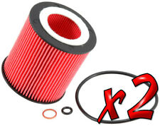 2 Pack: Oil Filters Performance Silver K&N PS-7014