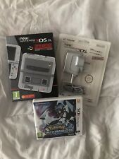 New Nintendo 3DS XL SNES Edition, Pokemon Ultramoon + Official Charger BRAND NEW