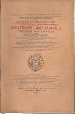 ANALYSE ET COMPREHENSION DES OEUVRES ET OBJETS D'ART T. 2 - ROUVEYRE - 1924-
