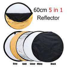 5in1 Collapsible Reflector Multi Panel Bag Light Disc Photo Photography Set New