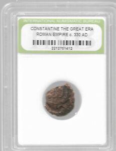 Rare Old Ancient Antique CONSTANTINE GREAT Roman Empire Era Invest War Coin Y209