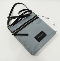 NWT MARC By Marc Jacobs M0010065 Nylon Shoulder/Crossbody Bag in Dolphin Blue