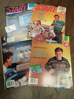 ATARI ST START Magazine #1 Guide 4 Issues Early Computers 1990 1991 PC Guide