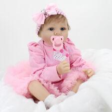 Kaydora Realistic Reborn Baby Dolls Newborn Vinyl Silicone Girl Doll Xmas Gifts