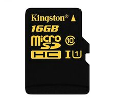 KINGSTON High Speed Micro SDHC Class 10 UHS-I SD Memory Card 16GB (HD Videos)
