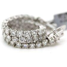 """Excellent Cut VS1 Fine Diamond Bangles 7 - 7.49"""" Length"""