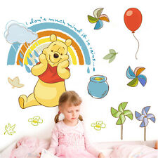 Winnie The Pooh Wall Stickers Nursery Boy kids baby Room Art Wall Decals Decor