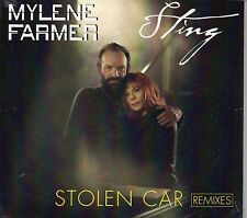 MAXI CD Mylène FARMER & STING Stolen Car REMIXES 5-TRACK Digipack NEW SEALED