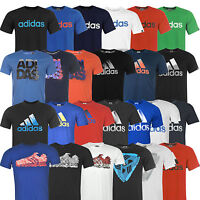 Adidas Herren T-Shirt Sneaker Tee S M L XL 2XL XXL Shirt Baumwolle Cotton NEU 3S