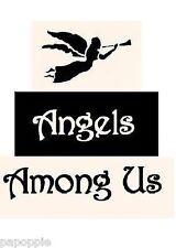 Stencil Primitive Blocks Angels Among Us Free Shipping!