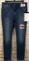 D Jeans High waist skinny jeans womens 10 NEW medium wash G3