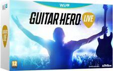 Guitar Hero Live with Guitar Controller (Nintendo Wii U) new & sealed