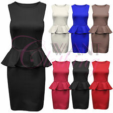 Unbranded Women's Knee Length Party Stretch, Bodycon Dresses