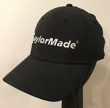b3d306305ec TaylorMade Adidas Golf Hat Cap Adjustable Black Spandex And Polyester