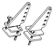 Dubro Control Horns Nylon T-Style (2) DUB237