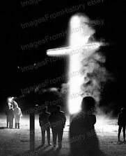 8x10 Print KKK Ku Klux Klan Klansman Burning Cross Florida 1965 #KKK98