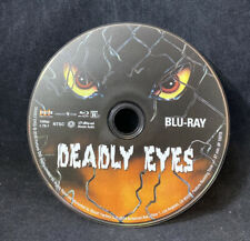 Deadly Eyes Scream Blu Ray Shout Factory OOP Disc Only Tested Works Great Nice
