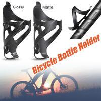 Hot 3K Full Carbon Fiber Bicycle Water Bottle Cage MTB Road Bike Bottle Holder