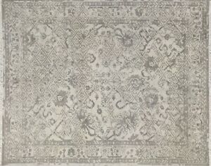 Unique Abstract Modern Hand Knotted,Art Decor luxury Rug, Taupe Color 8x10 -7124