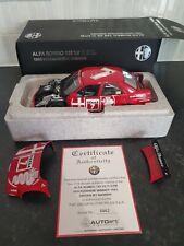 Autoart Signature 1/18 Alfa Romeo 155 V6 DTM 1993 Winner Nannini Very Rare UK