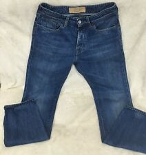 MADE & CRAFTED LEVI'S for MEN SIZE 30 X 34 RULER STRAIGHT BUTTON FLY EUC