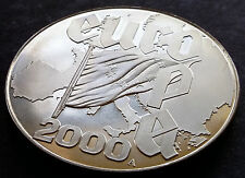 2000 Liberia $5 Coin Commemorating Europe and No KM #