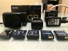 Ricoh GR GR 16.2MP Digital Camera - Black