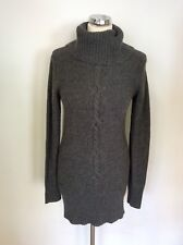 FULL CIRCLE LONG GREY CABLE DETAIL JUMPER SIZE 8/XS