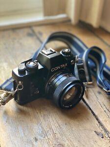 Contax 139 Quartz Camera with 50mm lens