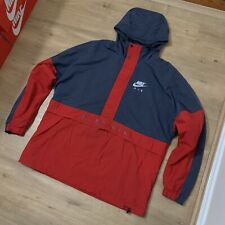 Nike Windbreaker Spray Parka Jacket Tech Fleece Air Max Hoodie Jumper Coat XL
