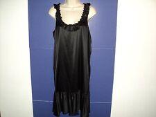 NEW Express Dress Size Medium M Black Silk Racer Back Scooped Neck Sleeveless