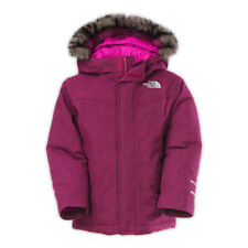 The North Face Big Girls' Greenland Down Parka Luminous Pink Size L 14/16
