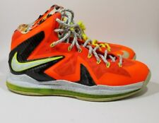 size 40 f2864 4630a Nike Lebron X 10 P.S Elite Basketball Shoes Size 8.5  Bright Crimson  579827 -
